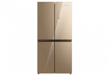 Холодильник CT-1756 Beige Glass